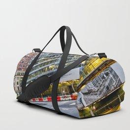 New York Street Scene Duffle Bag