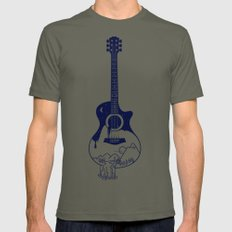 The Intriguing Sounds Of Nature Mens Fitted Tee Lieutenant MEDIUM