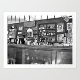 Bar in Old Havana, Cuba Art Print