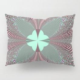 Fractal Quatrefoil Pillow Sham