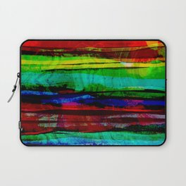colorful bohemian pattern Laptop Sleeve