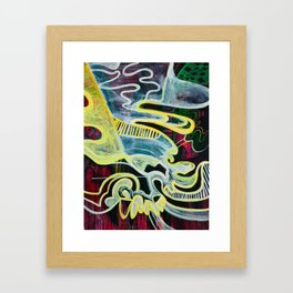 Slipping Into Dreams Framed Art Print