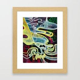 Slipping Into Dreams Framed Art Print
