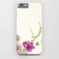 Simply Garden Flowers Slim Case iPhone 6s