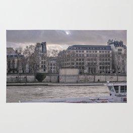 Seine wharf,  Paris Rug