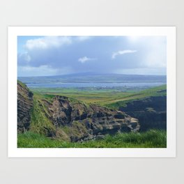 COUNTY CLARE Art Print