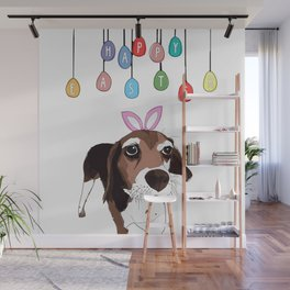 Happy Eater - Beagle Wall Mural
