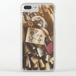 You&Me Clear iPhone Case