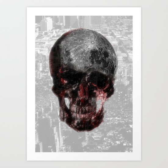 The Death of the Moon Art Print