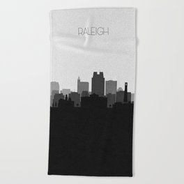 City Skylines: Raleigh Beach Towel