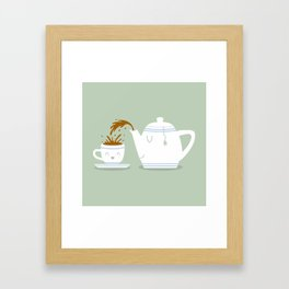 Tea Time! Framed Art Print