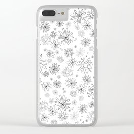 daisies and chamomile Clear iPhone Case
