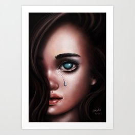The Last Tear Art Print