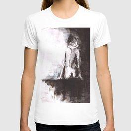 Woman nude T-shirt
