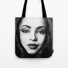"""""""No ordinary love"""" singer digitally enhanced and grained close up photo of . For good music lovers. Tote Bag"""