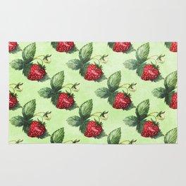 Strawberry Pattern- Strawberries fruits Rug