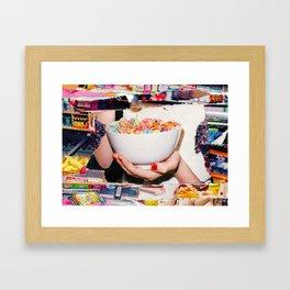 Pop Goes the Cereal Framed Art Print
