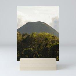 volcano landscape el salvador Mini Art Print