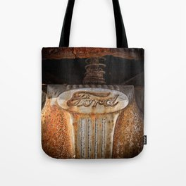 Old Ford Pickup Truck Tote Bag
