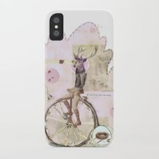 above the clouds Slim Case iPhone X