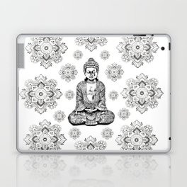 Buddha, HOME DECOR,with hand-painted Mandala Clouds,iPhone case,iPhone cover,iPhone skin,Laptop skin Laptop & iPad Skin