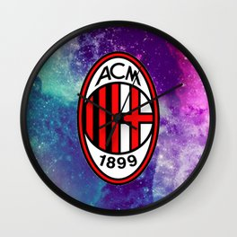 AC Milan Galaxy Edition Wall Clock