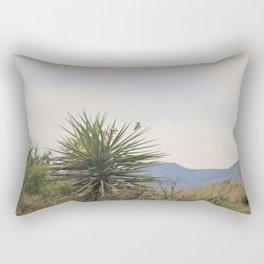 Bird in Desert Rectangular Pillow