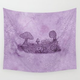 Fungi Meadow Wall Tapestry