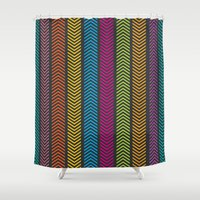 arrows Shower Curtains featuring Arrows by ItsJessica