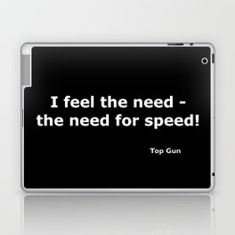 Top gun quote Laptop & iPad Skin