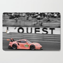 Pink Pig German Sports Motor Car Le Mans 2018 Cutting Board