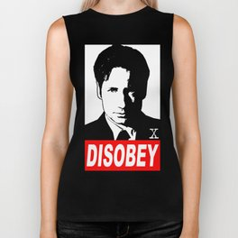 Disobey Mulder Biker Tank