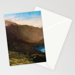 Mount Lafayette - Franconia Notch, New Hampshire by Thomas Hill Stationery Cards