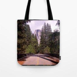 Ahwahnee Bridge, Yosemite Village Tote Bag