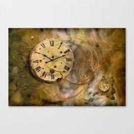 Die Zeit verfliegt ! Canvas Print