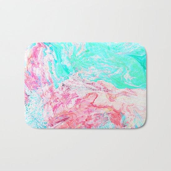 Paper Marble #society6 #decor #buyart Bath Mat