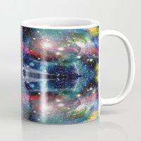 big bang Mugs featuring Big Bang by  Alexia Miles photography
