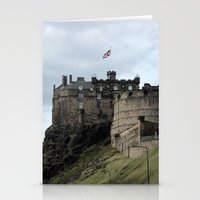 edinburgh Stationery Cards featuring Edinburgh Castle by RMK Creative