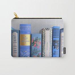 Shelfie in Blue Carry-All Pouch