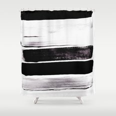 Stack V Shower Curtain