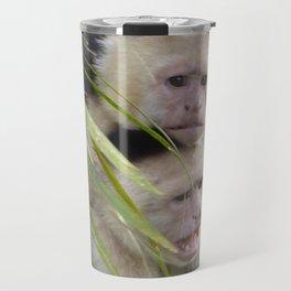 Capuchin monkeys Travel Mug