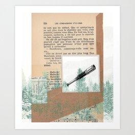The Amber Spyglass Art Print