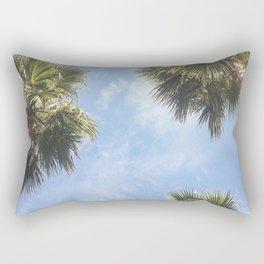 The sun and the palms Rectangular Pillow