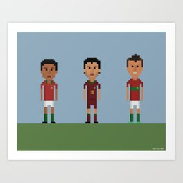 Portugal Legends Art Print