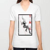 iggy azalea V-neck T-shirts featuring The New Classic - Iggy Azalea by infinitelydan