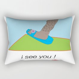 hey femmes Rectangular Pillow
