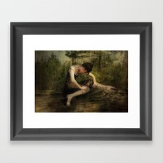 The Weight of Nature Framed Art Print