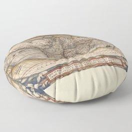 TYPVS ORBIS TERRARUM Floor Pillow