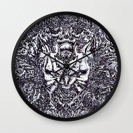 CAT-MAN 2099 Wall Clock