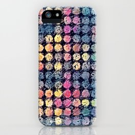 Sketchy Dots iPhone Case